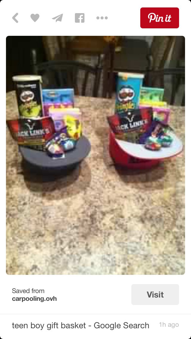 Teenager easter basket idea melikes pinterest basket ideas teenager easter basket idea negle Image collections