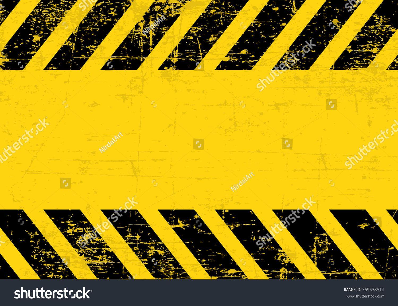 A Grungy And Worn Hazard Stripes Texture Sponsored Ad Worn