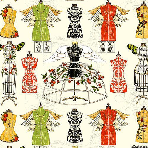 J. Wecker Frisch - Angel Band - Quilt Fabrics from www.eQuilter ... : best quilt fabric online stores - Adamdwight.com