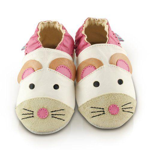 Chaussures En Cuir Souple Bébé Ladybug 0-6 Mois 9SrNIdu1
