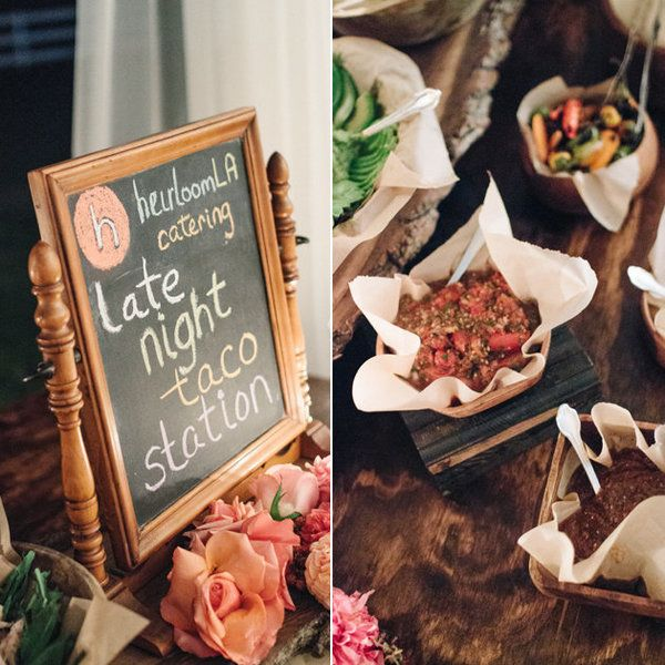 15 Outdoor Wedding Ideas That Are Totally Genius: 15 Late-Night Wedding Snacks That Totally Hit The Spot