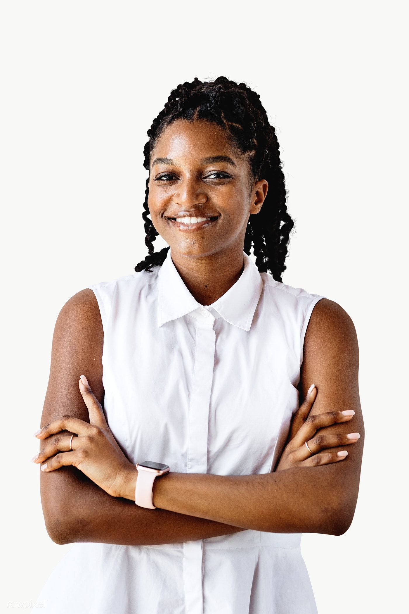 Portrait Of A Cheerful Black Woman Transparent Png Free Image By Rawpixel Com Mckinsey