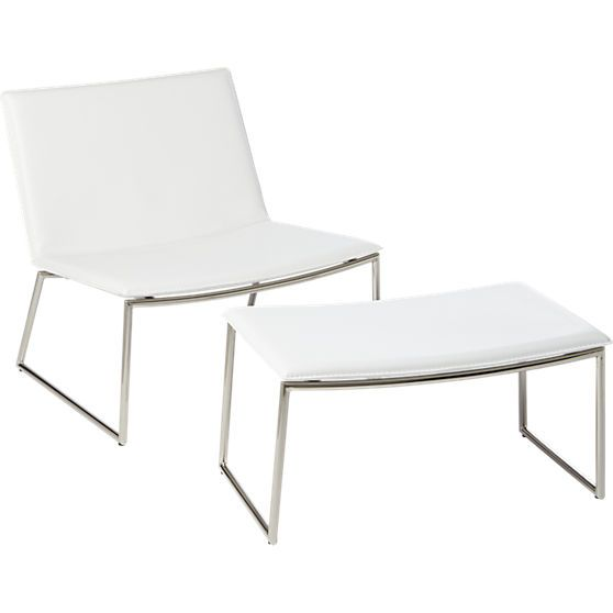 Groovy White Hot Racy Slim Sling Sits Low And Wide In Modern Creativecarmelina Interior Chair Design Creativecarmelinacom