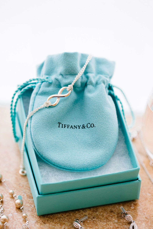 Tiffany & Co. bracelets for the bridesmaids gifts. | Photo courtesy Stephanie Koo Photography