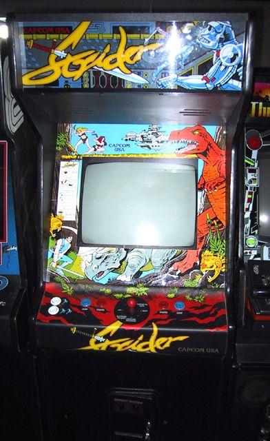 Strider Arcade Game Arcade Games Arcade Arcade Console