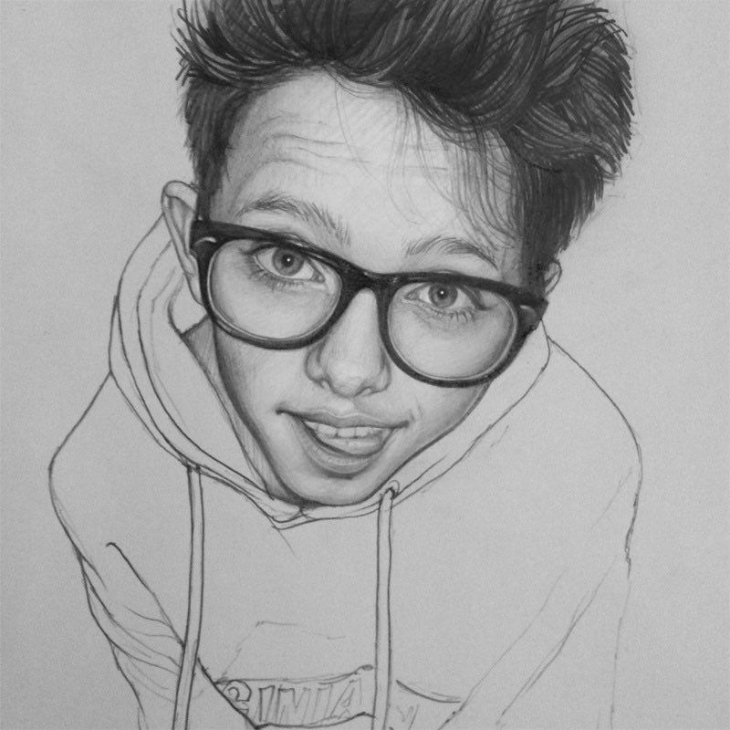i found this really good drawing of jacob i literally