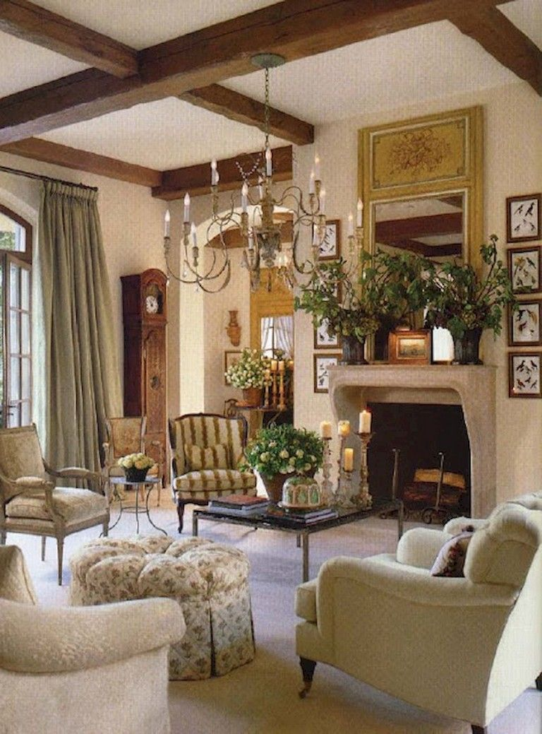 8 Fantastic French Country Living Room Decorating Ideas - Page 8