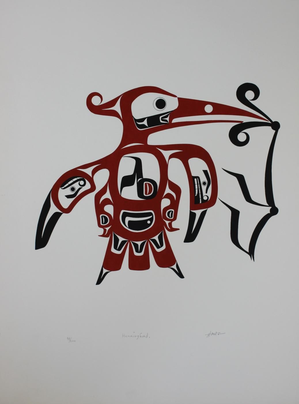 Tim Paul's First New Serigraph In Over 10 Years Native