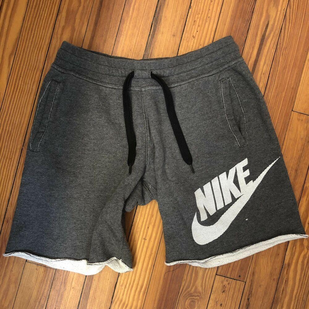 sentido común Retirarse As  NIKE Mens AW77 Alumni Shorts Charcoal Grey/White 620634-071 - Sz M #fashion  #clothing #shoes #accessories #mensc… | Winter jacket men, Jumpsuit men,  Mens sportswear