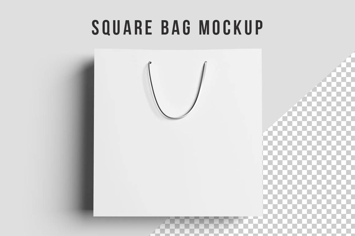 Download Square Shopping Bag Mockups Bag Mockup Discount Design Mockup
