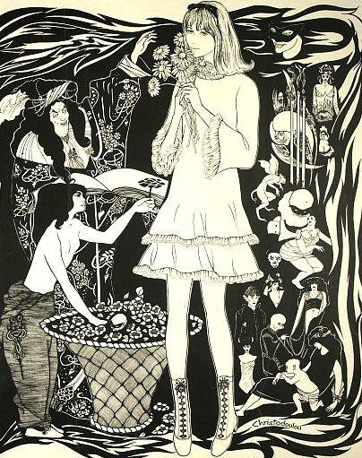 The White Hotel Art Pretty Art Psychedelic Art