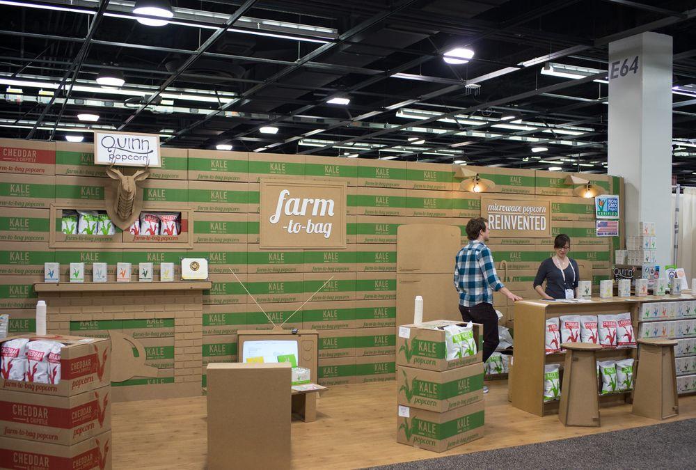 design trade show booths exhibit design quinn popcorn booth ideas