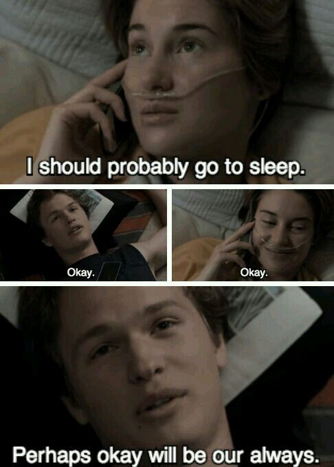 Pin by Khushi Singh on Fault in Our Stars | Fault in the ...