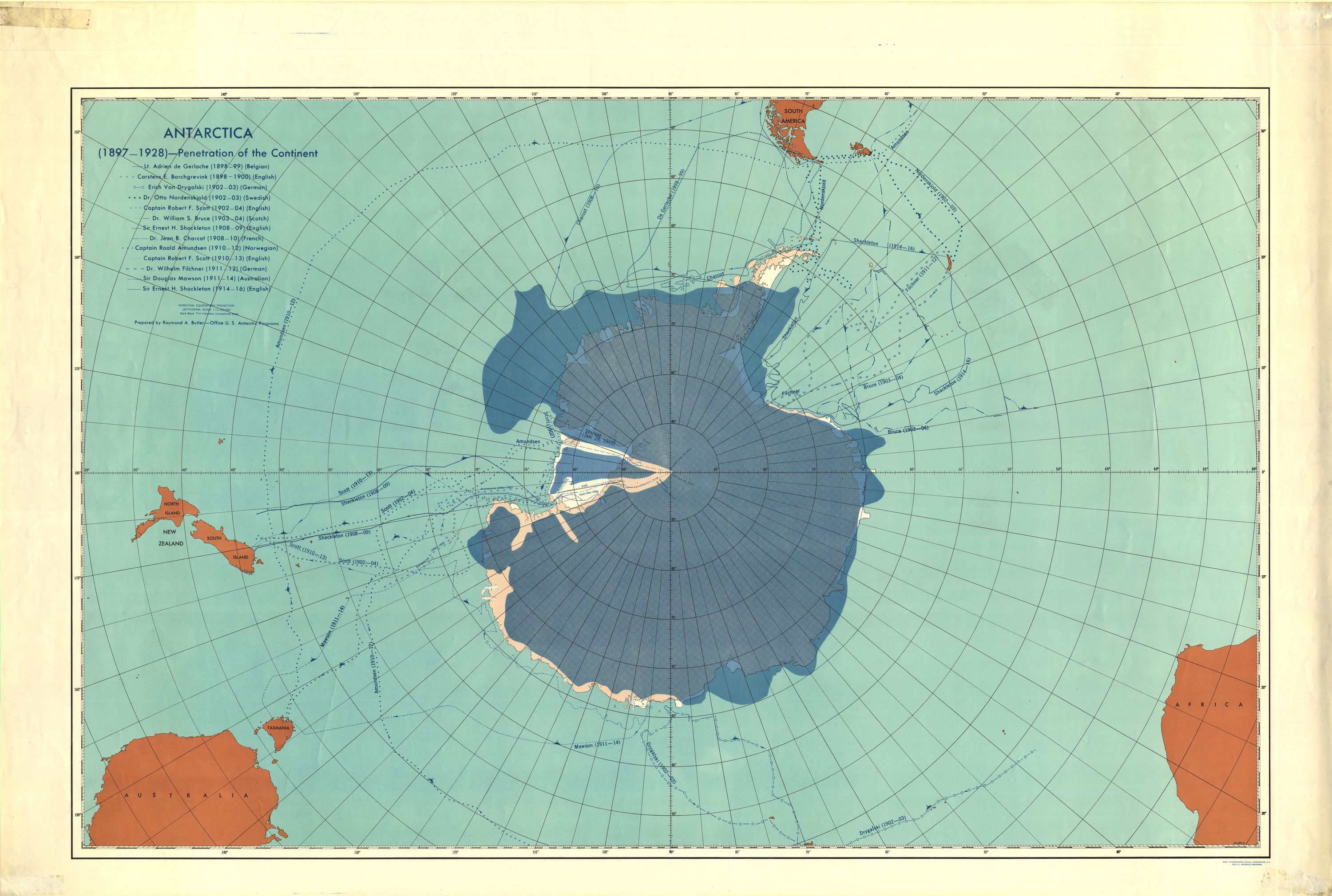 Penetration of the Continent Antarctica Penetration of