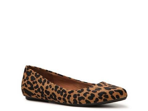 shoes, Leopard flats
