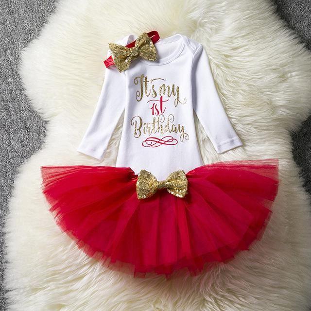 ad6ec1c4c Newborn Baby Girl Clothing Little Girl 1st Birthday Outfits Baby ...