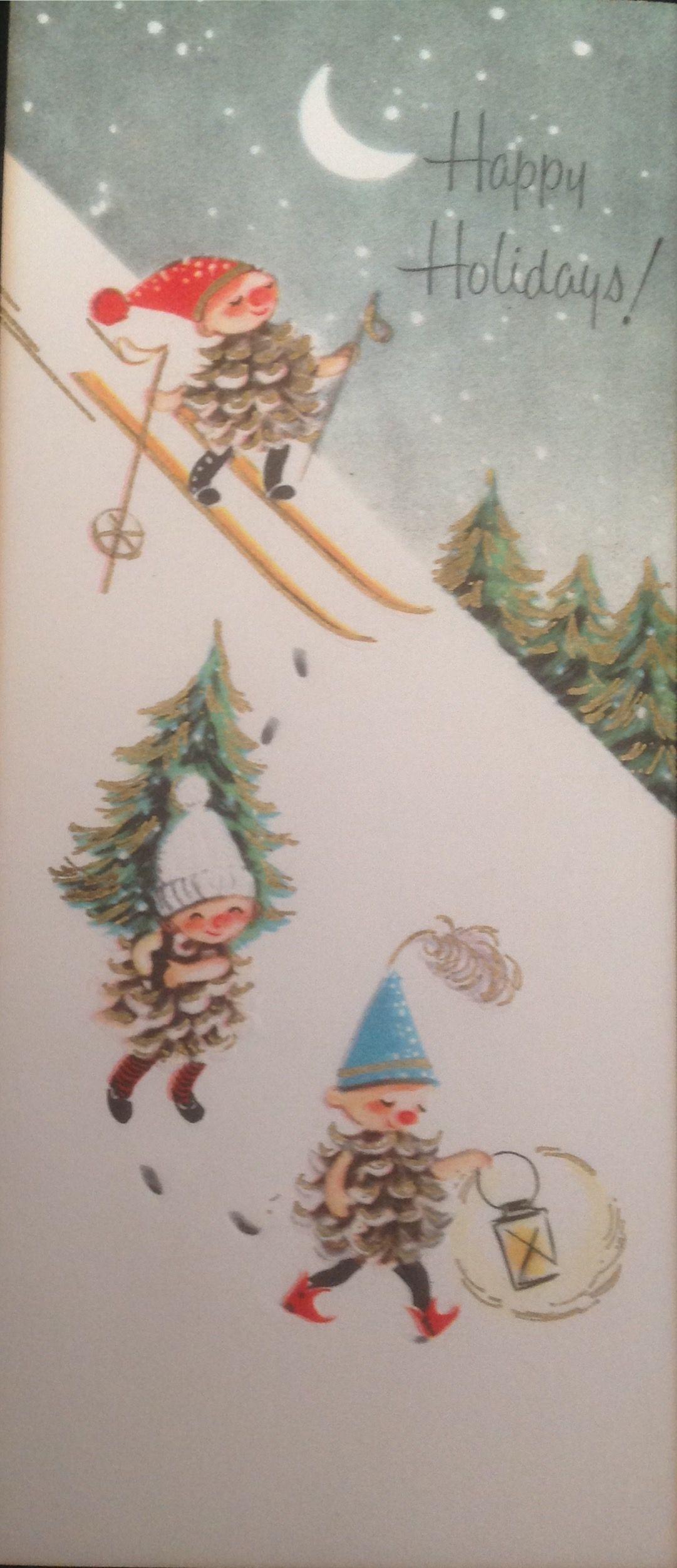 Pin Von Grace Michelbrink Auf Christmas Crafts Weihnachten Nostalgie Weihnachtsbilder Weihnachtsgrusse