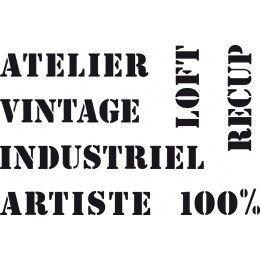 Pochoirs La Fabrik A Scrap Lorient Pochoir Pochoirs Vintage Pochoir A Imprimer