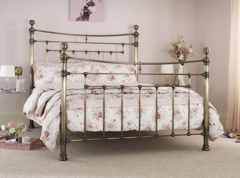 Edmond Antique Brass Super Kingsize Bed Frame My Home Ideas Bed