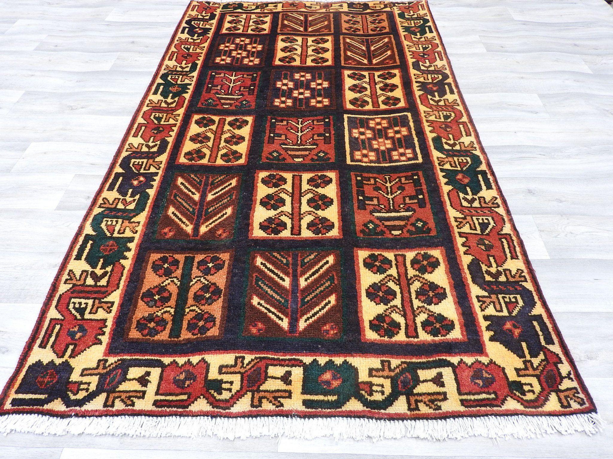 PERSIANHANDMADEBAKHTIARIRUG Rugs, Persian, Handmade