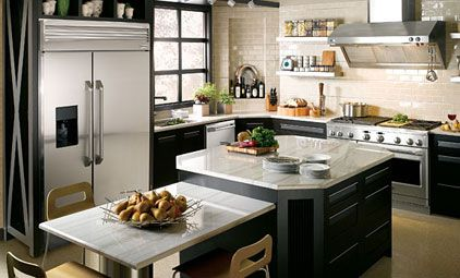 kitchen appliances packages | GE Monogram Kitchen Appliance Packages ...