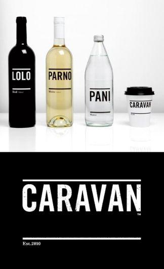 Caravan Identity | AisleOne — Designspiration