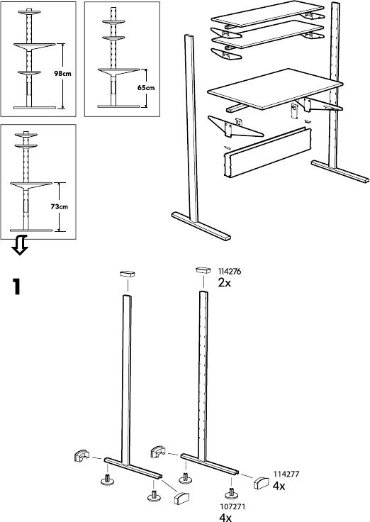 Image Result For Fredrik Ikea Desk Instructions Ikea Desk Ikea Instruction