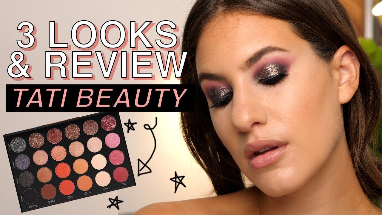 TATI BEAUTY PALETTE 3 LOOKS & REVIEW ALL of my thoughts