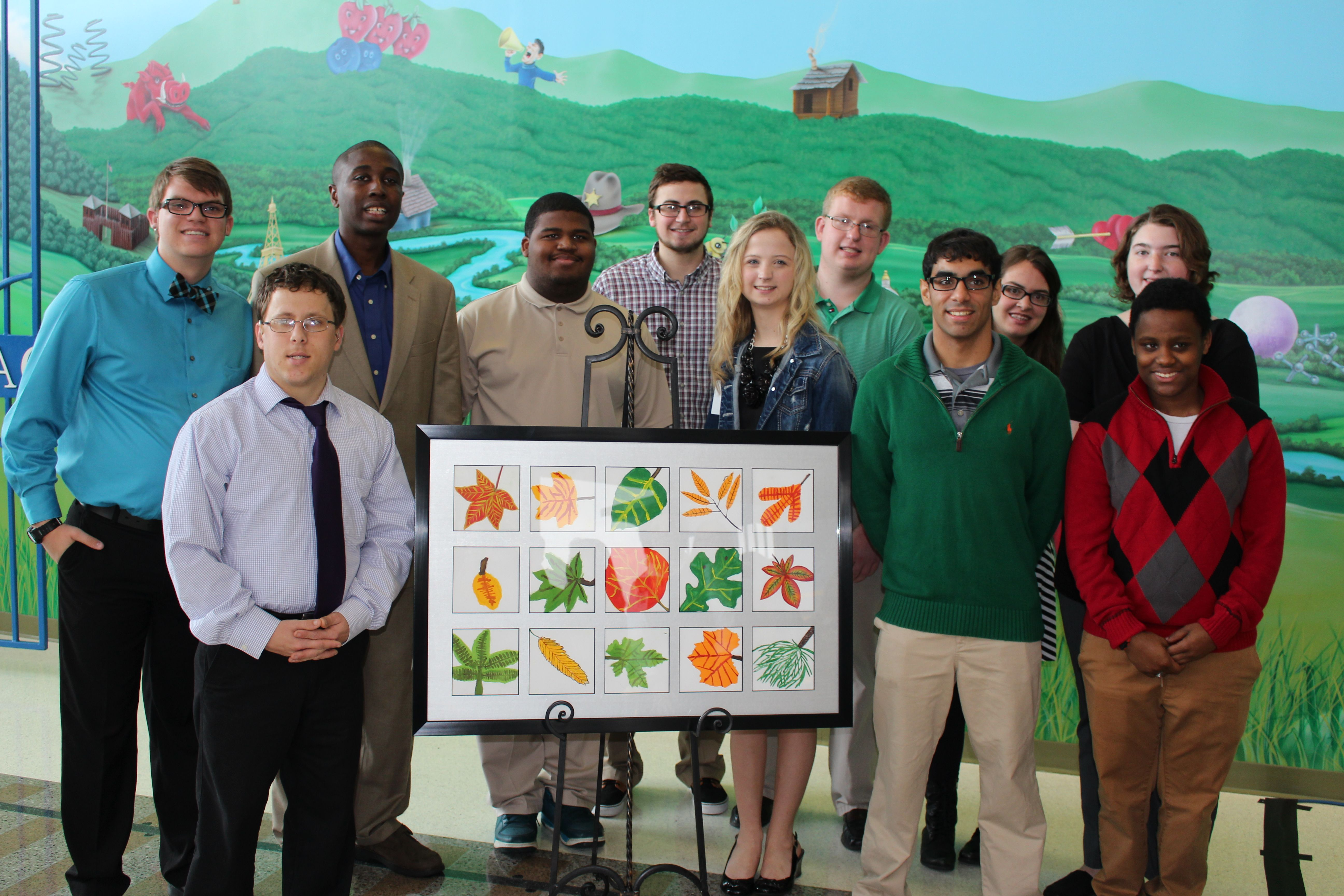 To say thank you for their experience at ACH, Project SEARCH interns worked with our Child Life artists in residence to create a collaborative artwork to be displayed in the hospital to commemorate the first year of the ACH Project SEARCH program! Learn more here: http://projectsearcharkansas.org/.
