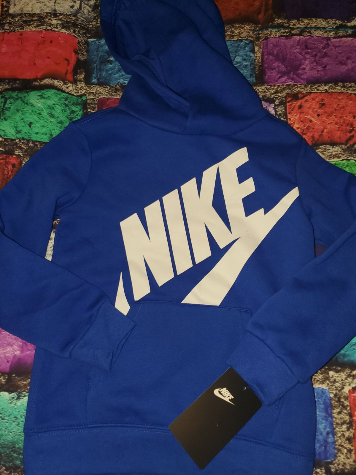 New With Tags Nike Hooded Sweatshirt Pullover Boys 4 4t Royal Blue And White Sweatshirts Sweatshirts Hoodie Pullover Sweatshirts [ 1600 x 1200 Pixel ]
