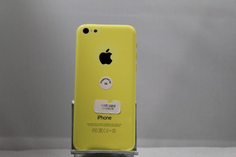 Apple Iphone 5c 8gb Yellow Sprint Acceptable Condition Ez019c10 885909962921 Ebay Apple Iphone 5c Iphone Apple Iphone