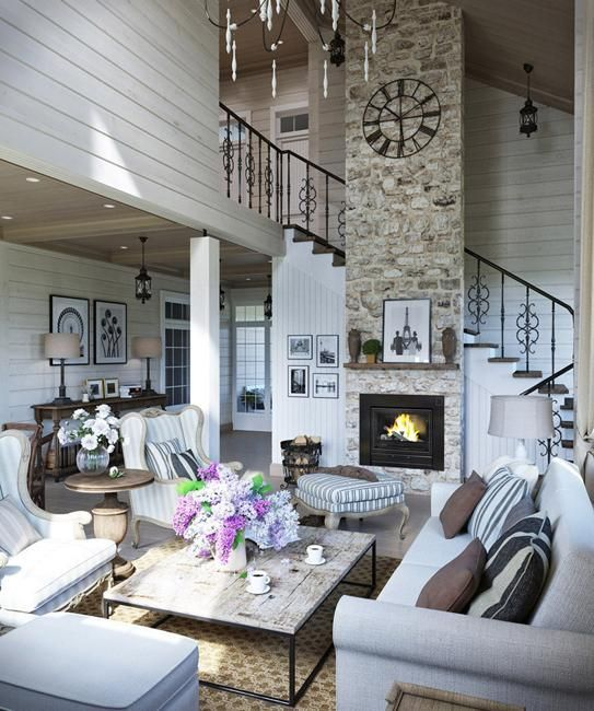 This family home with beautiful cottage decor offers ...