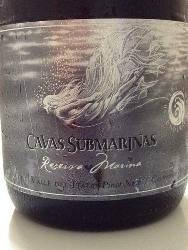 Cavas Submarinas Reserva Marina Pinot Noir Carmenérè 2007