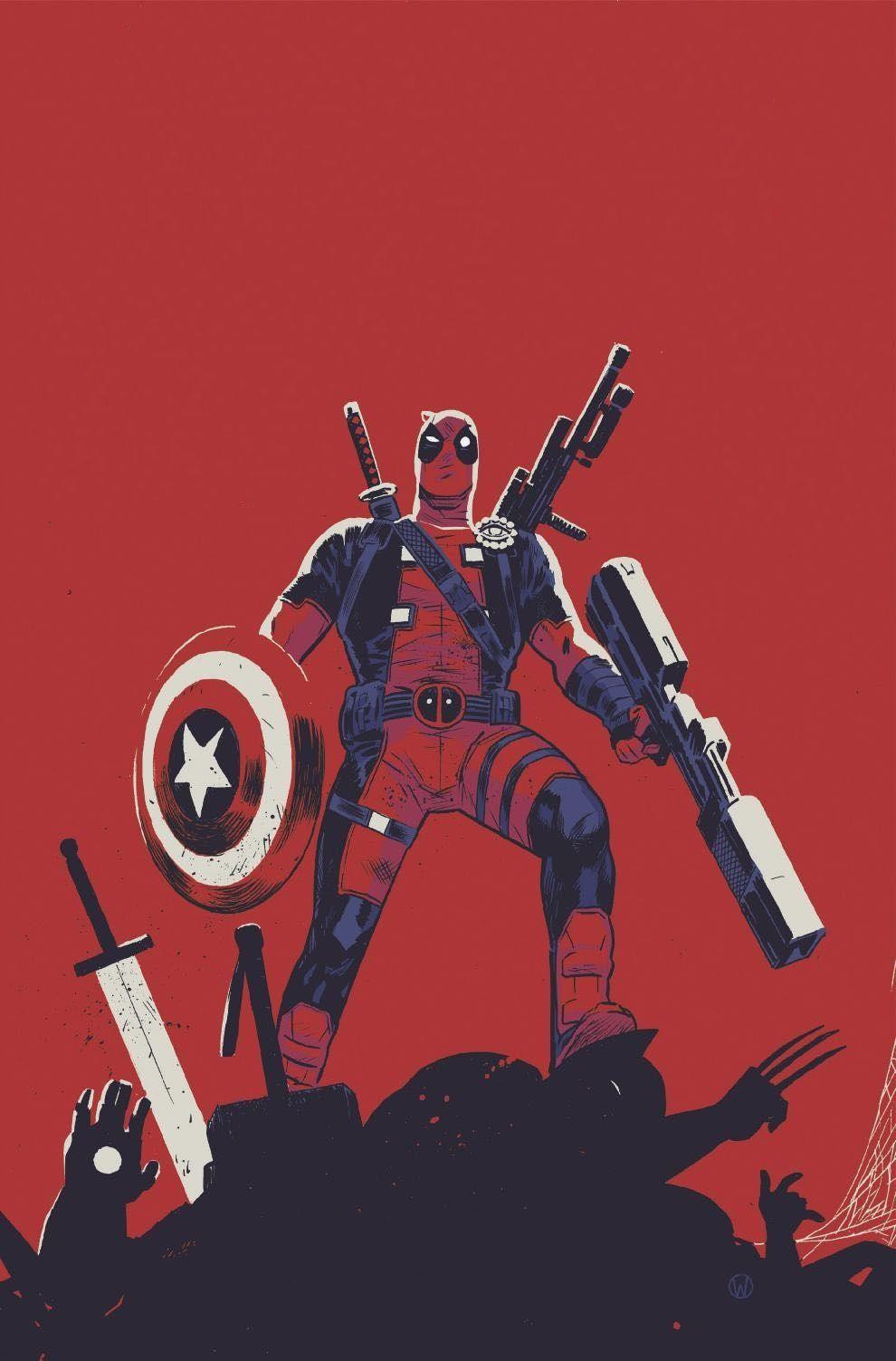 NM Deadpool Last Days of Magic #1 Cover B Variant Marvel