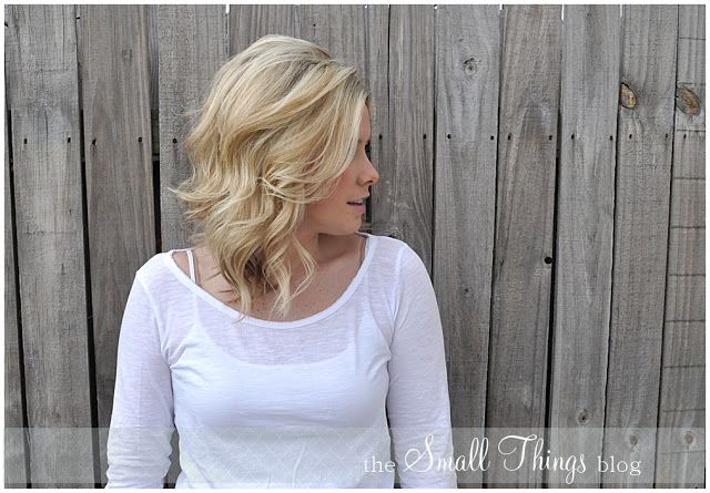 The Small Things Blog: How to Tease Hair video tutorial