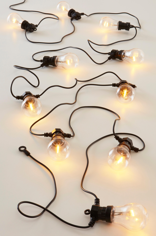 Ragge Led Ljusslinga Ljusslinga Belysning Glodlampa