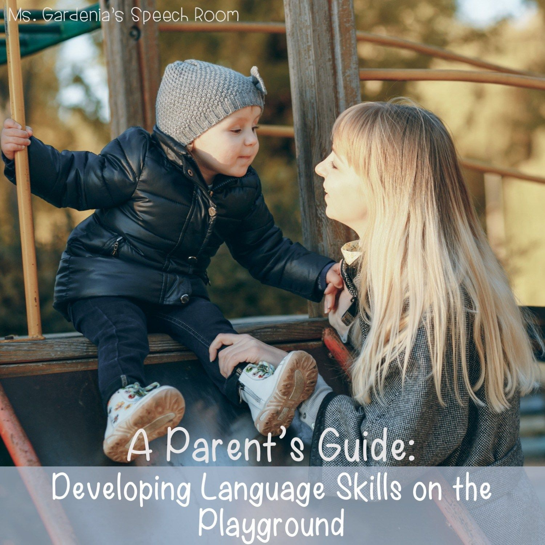 Developing And Improving Language Skills On The Playground