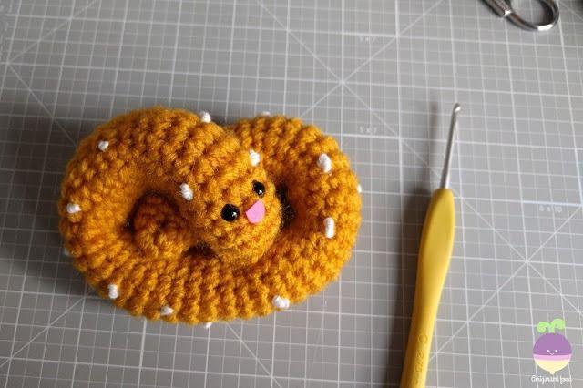 Amigurumi Food Pretzel Amigurumi Food Free Crochet Pattern