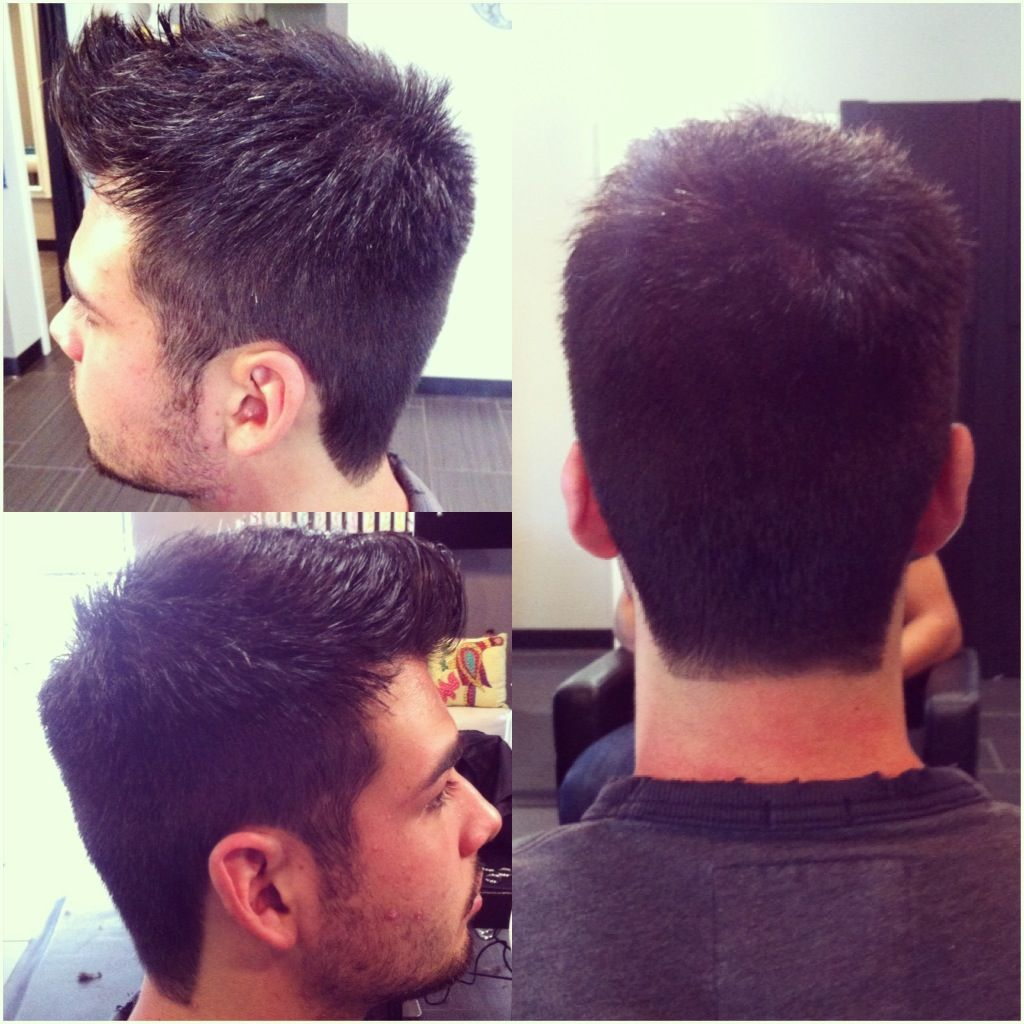awesome men's cut faded