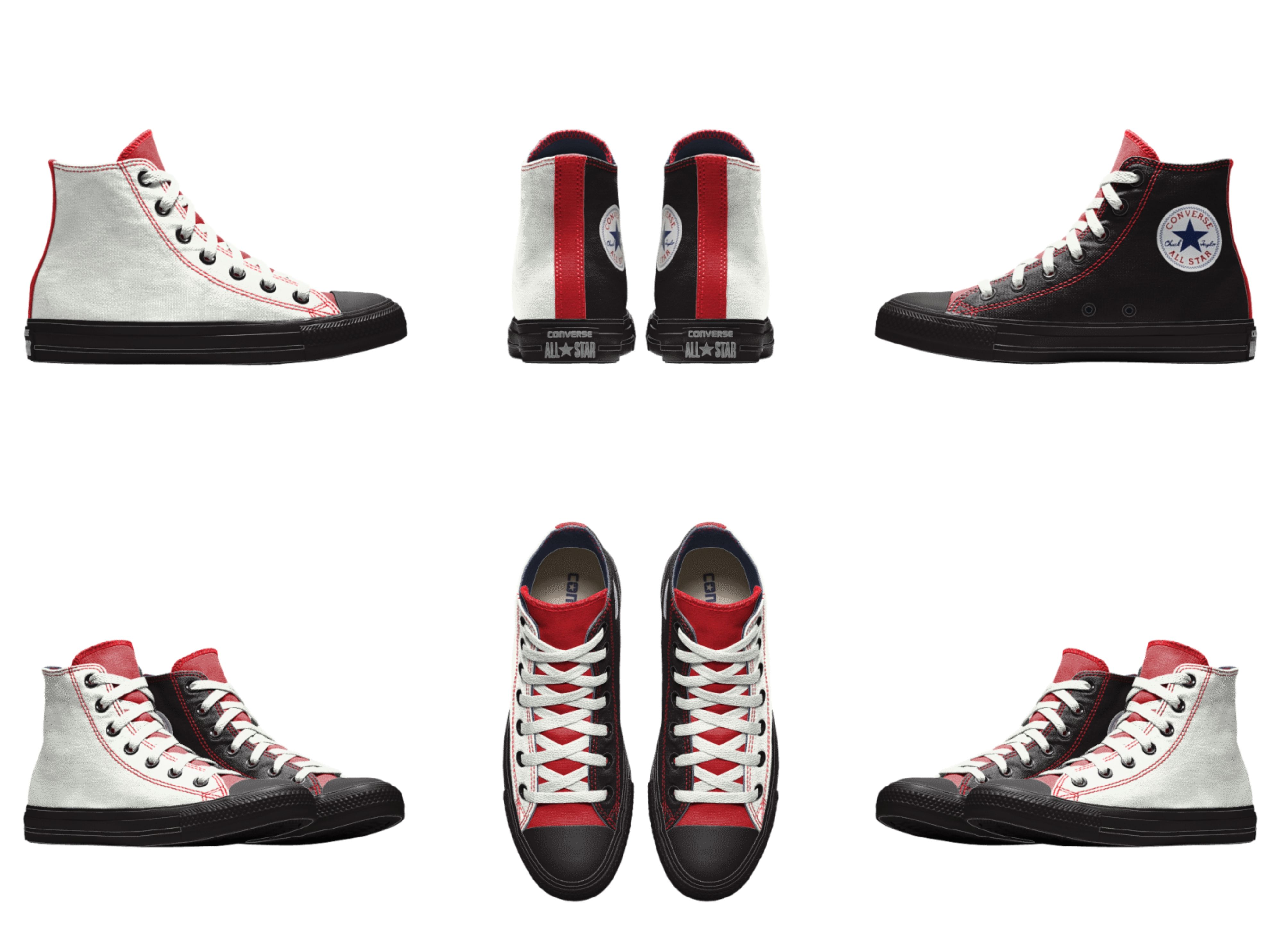 nada personalidad Facultad  I really (really really really) want these just so that I can paint an M83  logo onto the outsides… | Custom shoes, Converse chuck taylor high top  sneaker, Top shoes