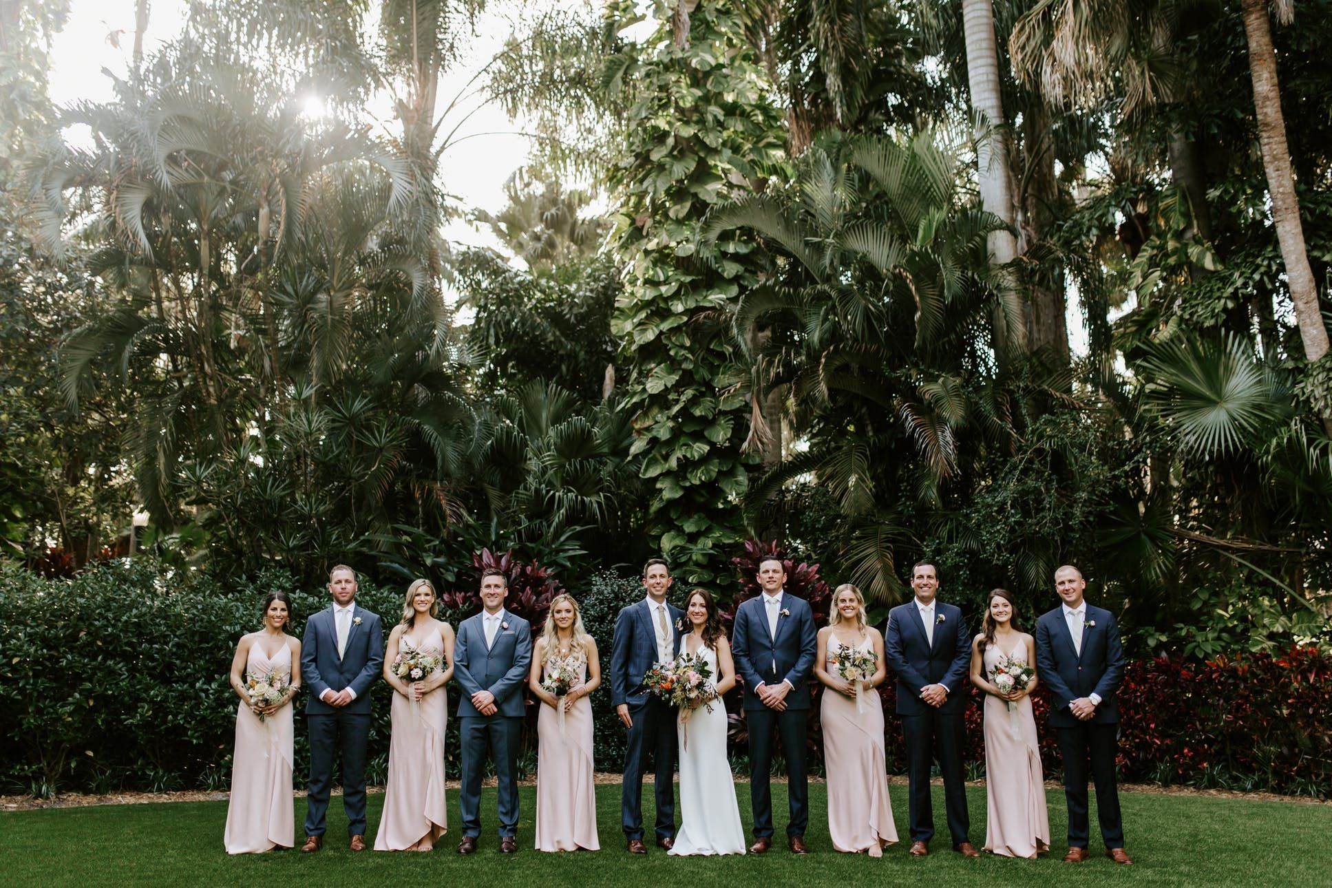 See Sunken Gardens, a beautiful Tampa Bay wedding venue