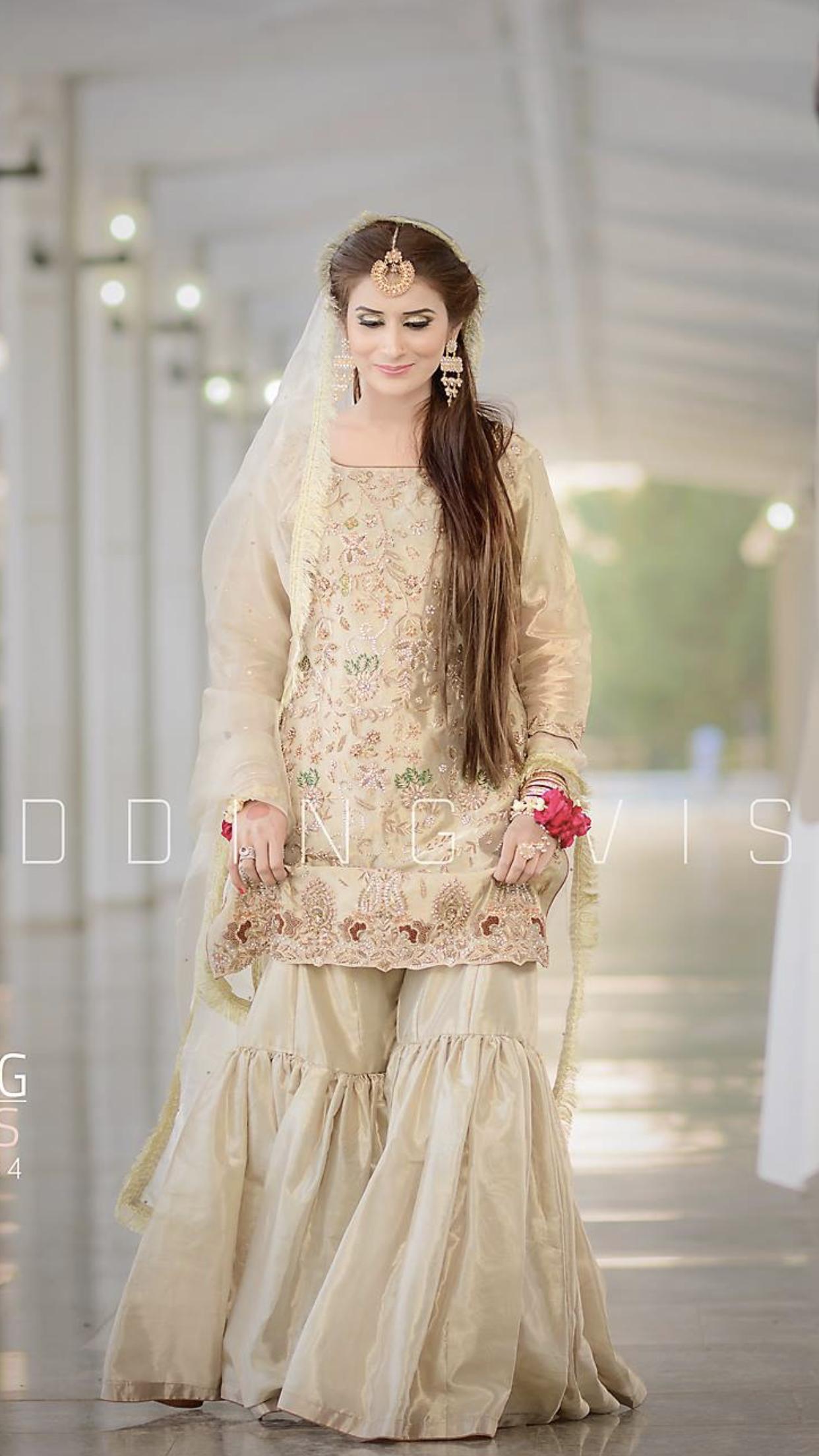 Nikkah Bride Pakistani Bridal Dresses Pakistani Wedding Outfits Stylish Wedding Dresses,Wedding Dresses With Long Trains And Sleeves