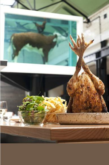 """Tramshed Shoreditch: """"The Menu Is Simple At The Chicken & Steak Restaurant"""