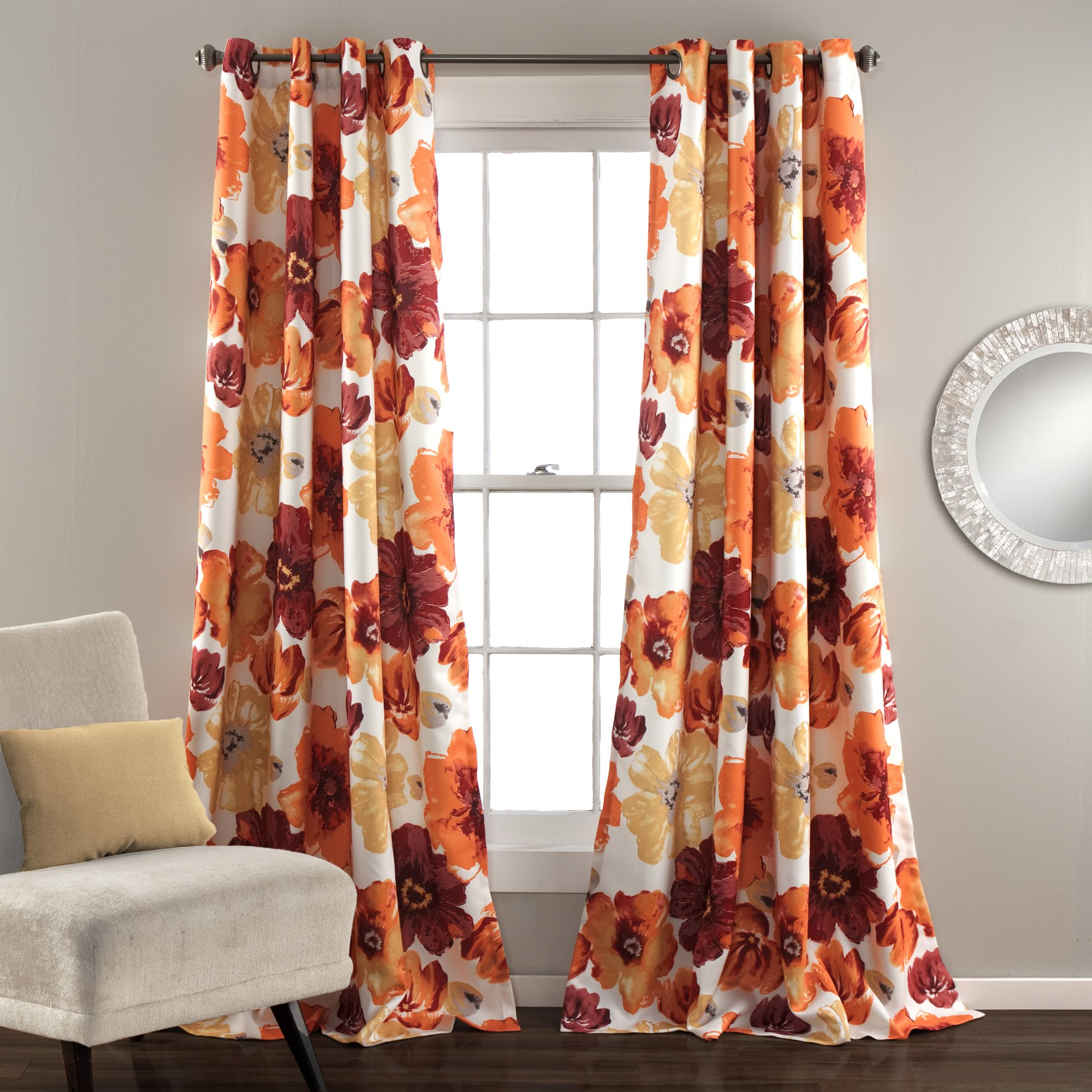 Leah Room Darkening Window Curtain Set Room Darkening Room