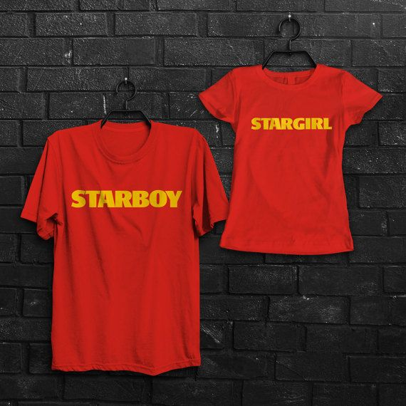 4bcd28a66 The Weeknd Starboy t-shirt Stargirl t-shirt Weeknd shirt