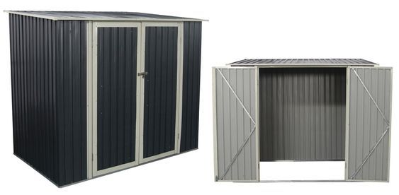 Good Metallgerätehaus GRANT 3,3 M² (222 X 149 Cm) #Schutz #Gartenhaus