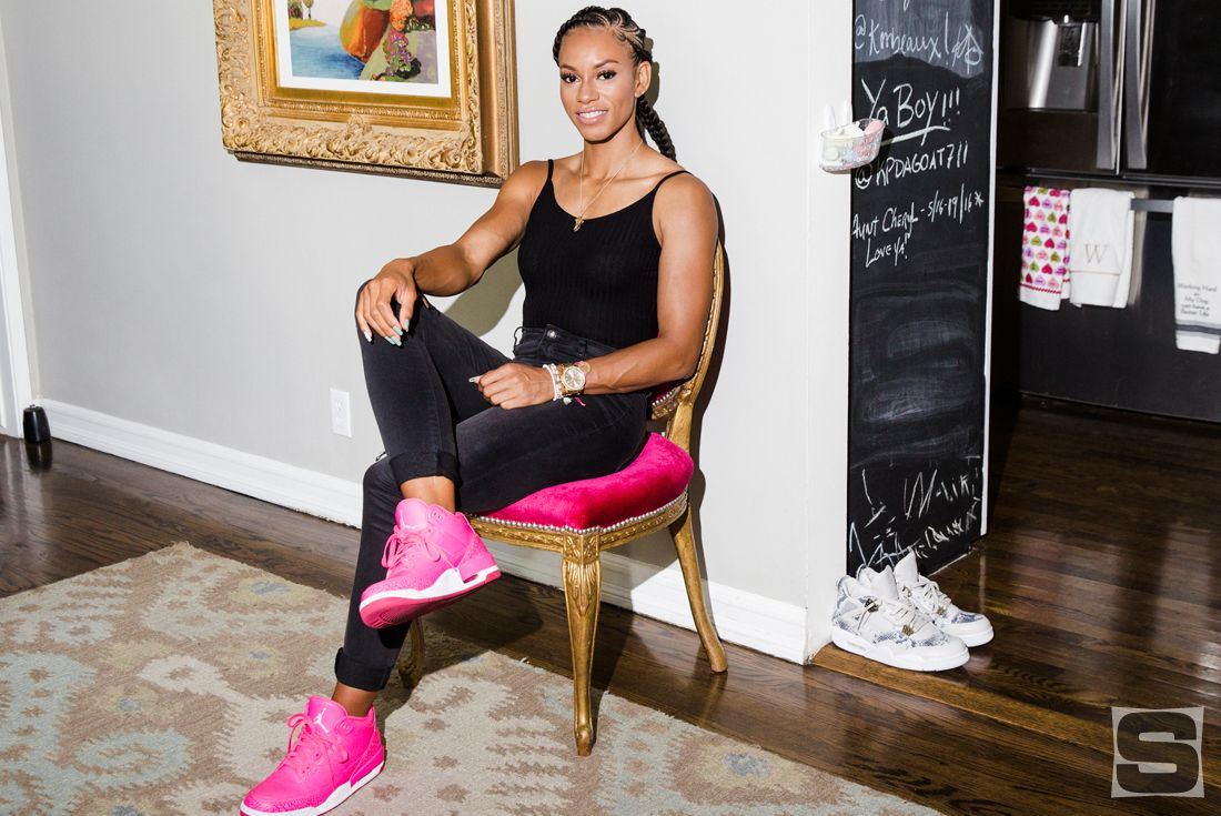 Jordan Brand Athlete Mandy White's Sneaker Closet | Sole Collector