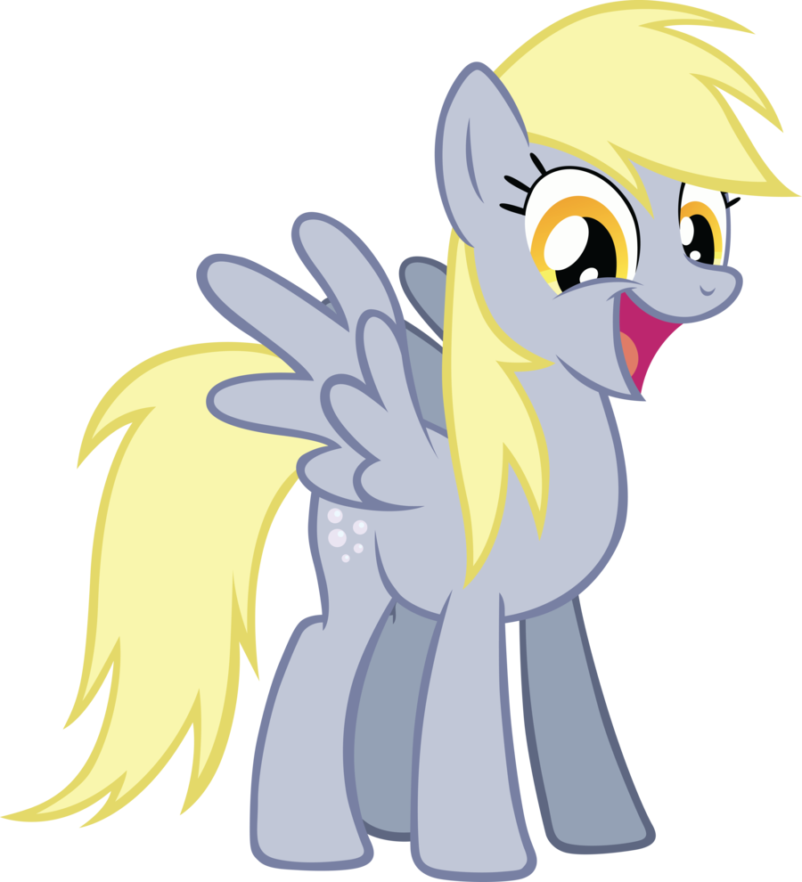 My little pony friendship is magic coloring pages derpy - I Will Derpy Hooves Mlp Fim Photo
