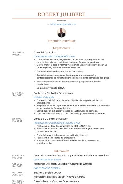 Financial Controller Resume Samples Visualcv Resume Samples Database Resume Examples Resume Administrative Assistant Resume