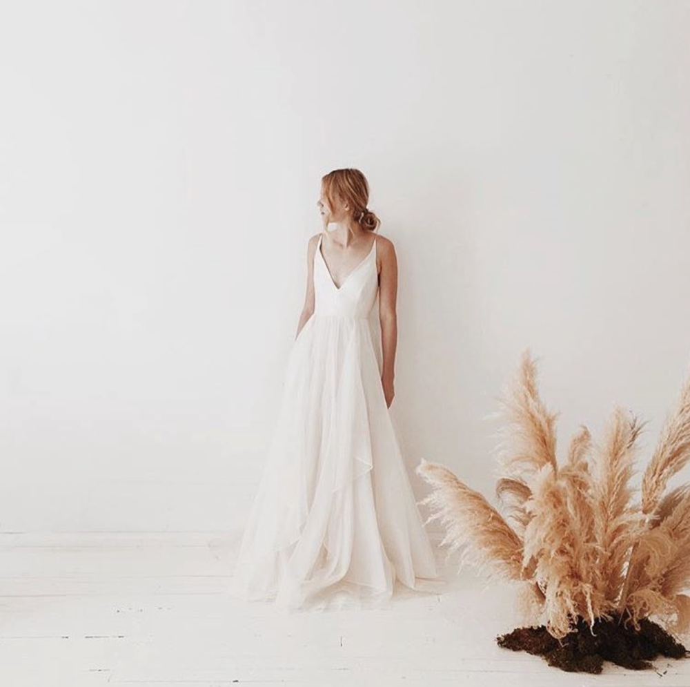 Gabrielle Dress — Leanne Marshall | Fantasy Wedding | Pinterest ...